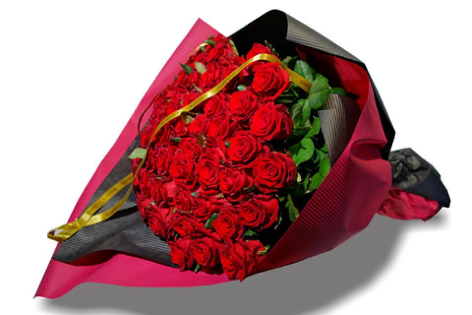 人気のバラの花束 | 60本 ¥38,880