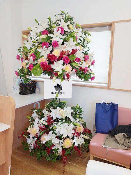 福岡花屋の生花スタンド