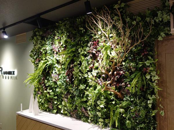 福岡の壁面緑化