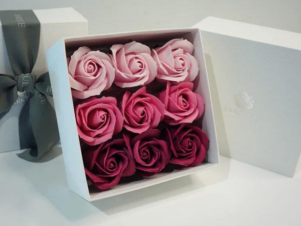 入浴剤の花