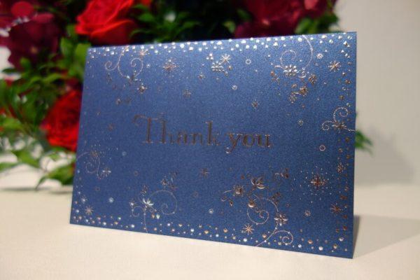 花屋のメッセージカード