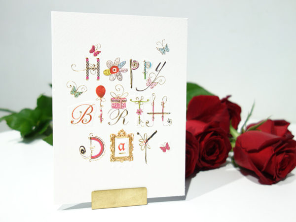 花屋バロックのメッセージカード