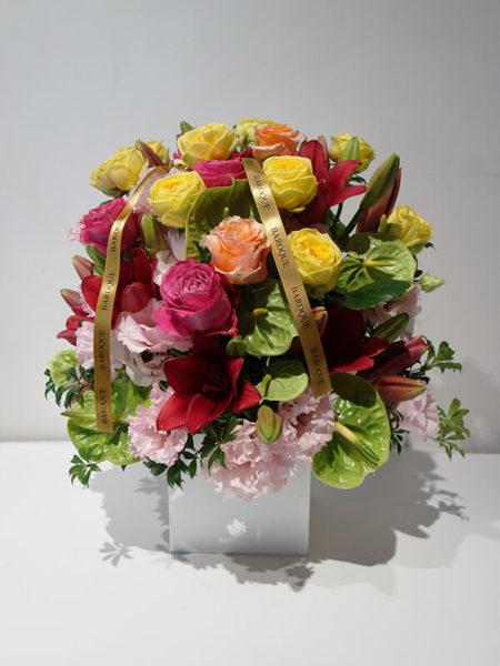 誕生日の花アレンジメント